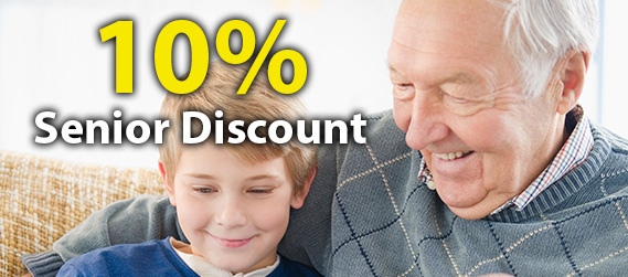 10% Seniors Discount - Plumber Camp Hill